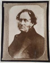 The only known photograph of Thomas Witlam Atkinson